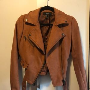 BROWN/COGNAC FALL JACKET